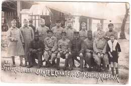 CPA B-du-R.MARSEILLE.25 MARS 1921 EN DEPART POUR L'ARMEE DU LEVANT.CAMP Ste MARTHE - Marsiglia