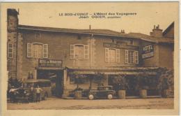 CPA Dept 69 BOIS D'OINGT Hotel Des Voyageurs - Francia