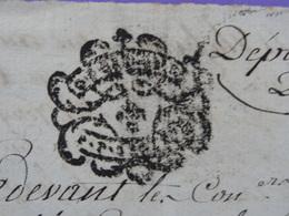 1786 Généralité De Grenoble (Isère) Papier Timbré N°332 ? P.P. ? Echange De Vignes, Verger Jeanne Chevrier Antoine Blanc - Seals Of Generality