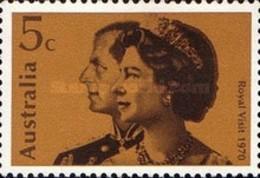 USED STAMPS Australia - Royal Visit -1970 - 1966-79 Elizabeth II