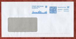 Brief, FRANKIT Francotyp-Postalia 3D060.., Stadt Beckum, 70 C, 2017 (75181) - [7] République Fédérale