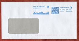 Brief, FRANKIT Francotyp-Postalia 3D060.., Stadt Beckum, 70 C, 2017 (75181) - BRD
