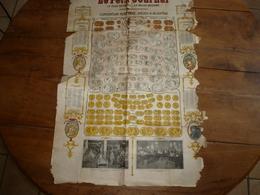 1906 Grande Affiche Publicitaire LE PETIT JOURNAL: Convention Monétaire, Pièces à Accepter Et Calendrier - Posters