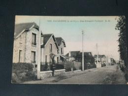 EAUBONNE     /   1910 /  VUE RUE ANIMEE   ....   / CIRC /  EDITION - Eaubonne