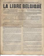 La Libre Belgique Journal Clandestin Août 1916 Guerre 14-18 - Newspapers