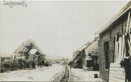 BELGIQUE -LANGENMARK - Carte Photo 1916 - Langemark-Poelkapelle