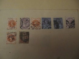 Ancient UK Great Britain Stamps From Ancient Albums, See Pics! - Sammlungen