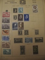 Ancient Greece Stamps From Ancient Albums, See Pics! - Sammlungen