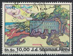 Somalie 1985 Oblitéré Used Côtes De Mnarani - Somalie (1960-...)