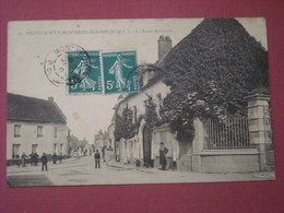 Neuville Sous Montreuil Sur Mer - La Route Nationale - France