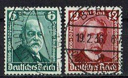 DR 1936 // Mi. 604/605 O - Deutschland