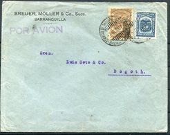 1927 Colombia Breuer, Moller & Co. Barranquilla SCADTA  Airmail Cover - Bogota - Colombia