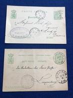 Luxembourg -  Lot De 2 Cartes - Konvolut 2 Karten - Henri Knepper - Tanneur - Kehlen - Ettelbruck - Saeul - Diekirch - Cartes Postales