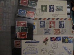 Beautiful Small Lot With Stamps Letters Germany And Russia Deutschland CCCP, See Pic! - Briefmarken