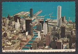 88381/ CHICAGO, Bird's-eye View Of Chicago Skyline - Chicago