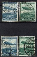 DR 1936 // Mi. 606/607 X,Y O - Deutschland