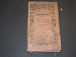 MANUEL COMPLET DE LA CUISINIERE BOURGEOISE - PARIS 1871 - Gastronomie