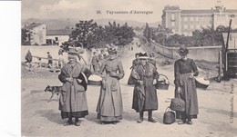 Paysannes D'Auvergne - France