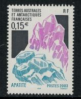 T.A.A.F. // 2003 //  No.361 Y&T Neuf** Minéral - Neufs