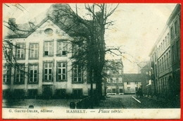 Hasselt: Place Verte (1903) - Hasselt