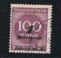 1923 7. Nov. Inflationsausgaben Mi DR 331 Sn DE 310 Yt DR 331 Sg DR 342 Gest. O - Oblitérés