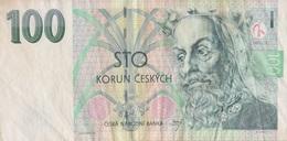 Rép. Tchèque / 100 Korun / 1997 / P-18(a) / VF - Czech Republic