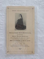 SANTINO SUOR MARIE BERNARD - BERNADETTE SOUBIROUS PRIMI '900 - Devotion Images
