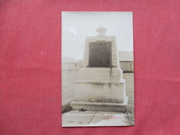 RPPC  World War Monument  Burke New York      Ref 3424 - Other