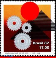 Ref. BR-1799 BRAZIL 1982 INDUSTRY, VALE DO RIO DOCE, MINING, CO, MI# 1899, MNH 1V Sc# 1799 - Mineralien