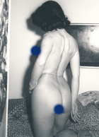 Snapshot Vintage Femme Nue érotique Nude Artistique Pose Woman - Celebridades De Antaño