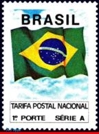 Ref. BR-2320 BRAZIL 1991 FLAGS, FLAG OF BRAZIL,, MI# 2419, MNH 1V Sc# 2320 - Brésil