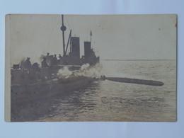 K.U.K. Kriegsmarine Marine Pola Foto Photo SMS 199 1917 Ed Rotes Kreuz - Warships