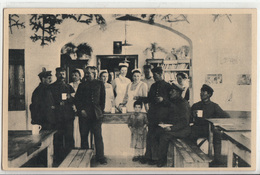 CPA-  ROUMANIE- Soldatenheim In Plaginesti,Ausgabestelle- Guerre 14-18- 2scans - War 1914-18