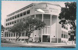 SENEGAL DAKAR Le Grand Conseil De L'A.O.F. - Citroen Traction Auto - Photo Véritable Circulé 1953 - Senegal