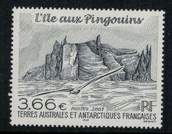 T.A.A.F. // 2003 //  No.362 Y&T Neuf** L'île Aux Pingouins - Neufs