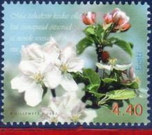 Ref. ET-436 ESTONIA 2002 FLOWERS, PLANTS, SPRING FLOWERS,, MI# 431, MNH 1V Sc# 436 - Plants