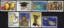 Ref. M1-V2010-05 MALTA 2010 MAPS, OCCASIONS - EVENTS, SET MINT MNH 8V - Malte