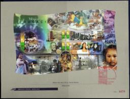 Ref. MX-2177FB MEXICO 1999 EDUCATION, THE 20TH CENTURY, 2000,, MI# B49, UNUSUAL, FDB 5V Sc# 2177 - Mexiko