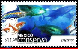 Ref. MX-2270 MEXICO 2002 NATURE, CONSERVATION, OCEANS,, FISH, (11.50P), MNH 1V Sc# 2270 - Poissons