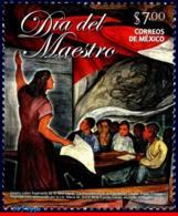 Ref. MX-2824 MEXICO 2013 TEACHER�S DAY, PAINTING, EDUCATION,, MNH 1V Sc# 2824 - Mexiko
