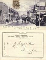 China, TIENTSIN TIANJIN 天津, Street Scene With Shops (1906) Postcard - China