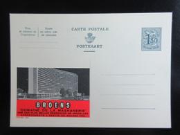 ENTIER CP PUBLIBEL 1564 . BROENS . DOMAINE DE LA MAGNANERIE . BRUXELLES   . NEUF - Publibels