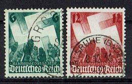 DR 1936 // Mi. 632/633 O - Deutschland