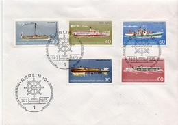 Germany / Berlin Set On FDC - Ships