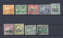 Chypre Petit Lot Obl. De La Série George VI De 1938/51  9 Timbres - Chypre (...-1960)