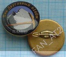 UKRAINE / Badge / Alpinism Tourism Mountaineering Tourism. Pamir. Double Peak. 2010s - Alpinism, Mountaineering