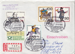 Germany Set On Cover - Post