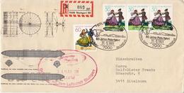 Germany Set On Specail Zeppelin Cover - Zeppelins