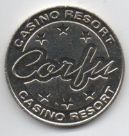 Jeton De Machine à Sous : Casino Resort Corfu Grèce (Très Bon État) - Casino