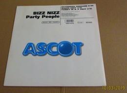 MAXI 45T BIZZ NIZZ : Party People - 45 T - Maxi-Single